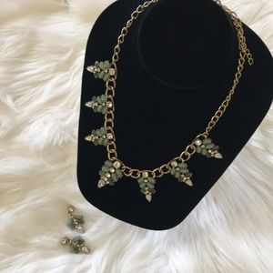 J. CREW set of a necklace and earrings